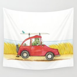 Surf Mobile Wall Tapestry