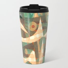 The Barbed Noose with the Mice by Paul Klee, 1923 Travel Mug