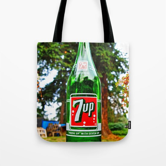 """""""Fresh up"""" with Seven-Up Tote Bag"""