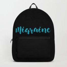 Migraine Headache Pain Awareness Backpack
