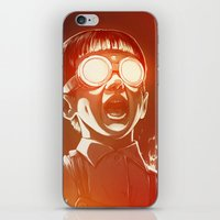 gold iPhone & iPod Skins featuring FIREEE! by Dr. Lukas Brezak