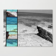 turks and caicos.  Canvas Print