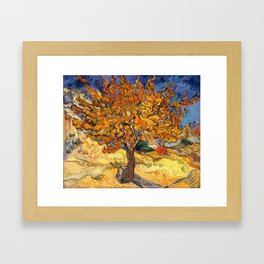 The Mulberry Tree by Vincent van Gogh Framed Art Print