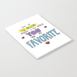 You are my favorite Notebook