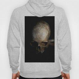 Male skull with bones Hoody