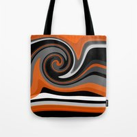 discount Tote Bags featuring Heat wave by Jordan