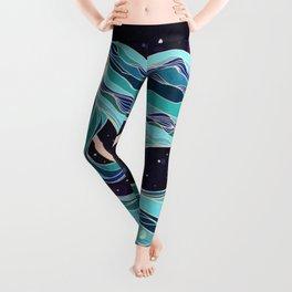 Ocean Skirt Leggings