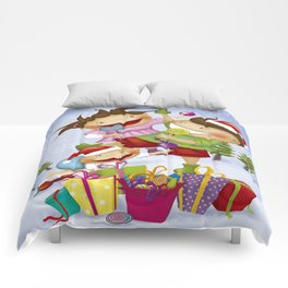 """Noviy god"" Comforters"