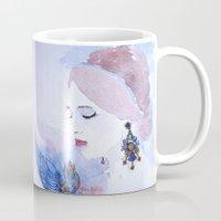 lady Mugs featuring Lady by S.Svetlankova