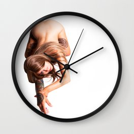 Cat Crawl Wall Clock