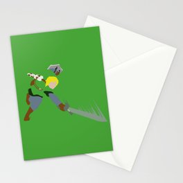 Hero in Battle Stationery Cards