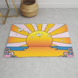 California Sunshine LSD Blotterart Rug
