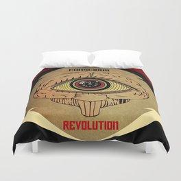 Concious Revolution  Duvet Cover