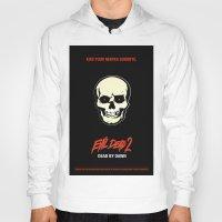 evil dead Hoodies featuring Evil Dead 2 - Dead by Dawn by Dukesman