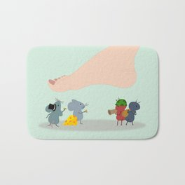 Survival of the Fittest Bath Mat