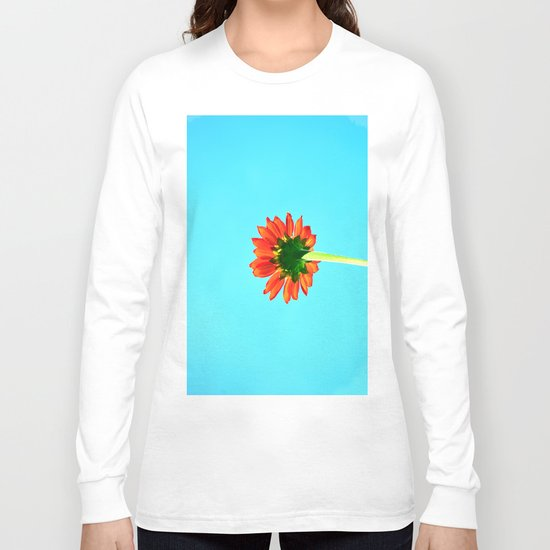 Flower orange 6 Long Sleeve T-shirt
