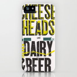 Notorious Wisconsin iPhone Case