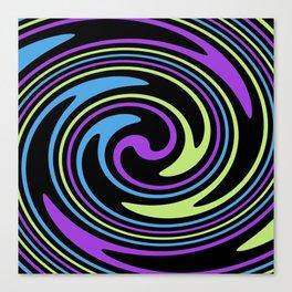 Rotating in Circles Series 01 Canvas Print