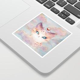 Stargazer Cat : Vision Seeker Sticker