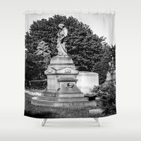 grace Shower Curtains featuring Grace by Nevermind the Camera