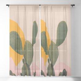 People - Portrait Sheer Curtain