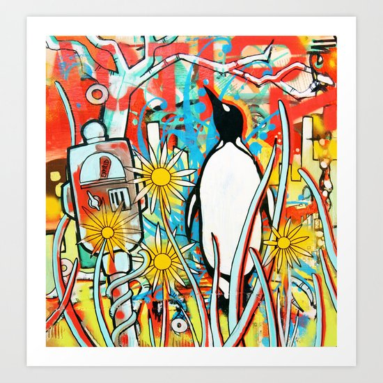 Metered Parking Art Print