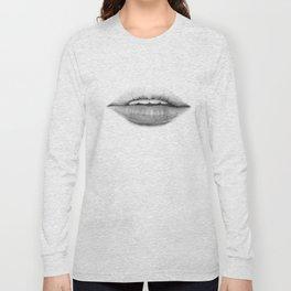 Teasing lips Long Sleeve T-shirt