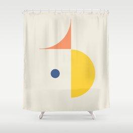 Spot Held Shower Curtain