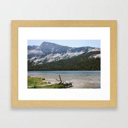 Tenaya Lake Framed Art Print