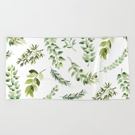 Forest in the Fall Beach Towel