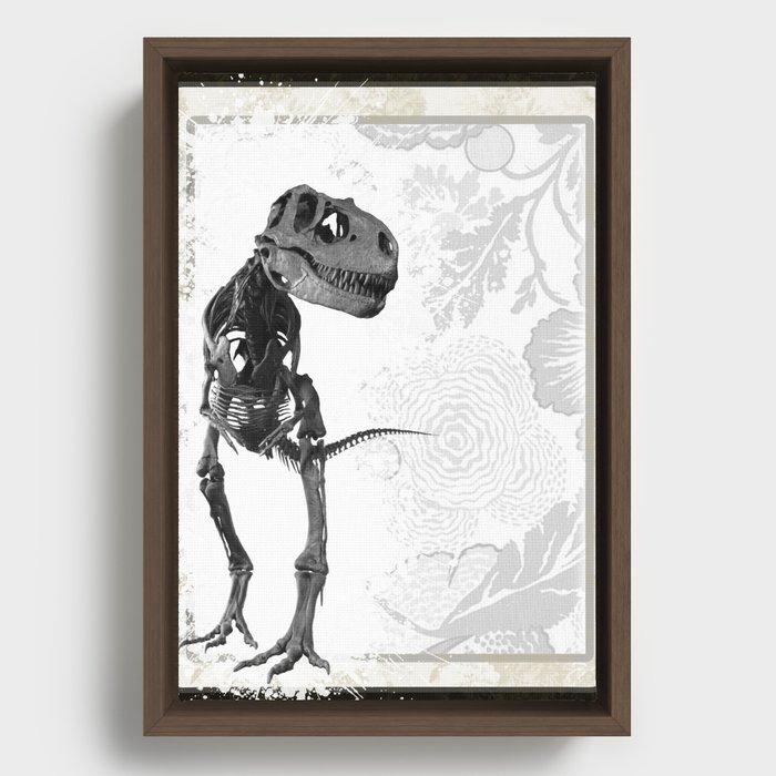 T-Rex Framed Canvas