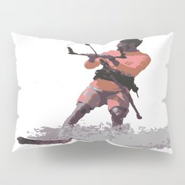 Board Out Of Your Mind Kitesurf Vector Pillow Sham