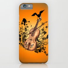 Violin with violin bow iPhone 6s Slim Case