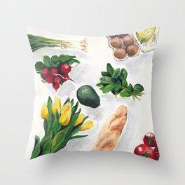 Produce Throw Pillow