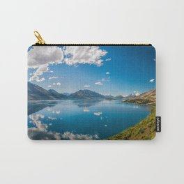 Breathtaking View from a famous scenic Lookout at Lake Wakatipu Carry-All Pouch