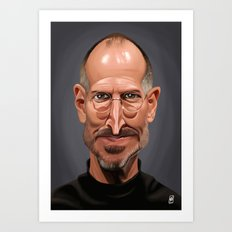 Celebrity Sunday ~ Steve Jobs Art Print