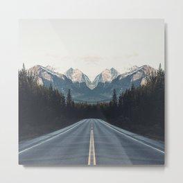 Mountain Twins Metal Print