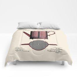 Coffee Press Patent Comforters