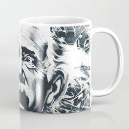 E=mc^2 Albert Einstein Graffiti (Monochrome) Coffee Mug