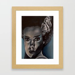 Frankenstein's Bride Framed Art Print