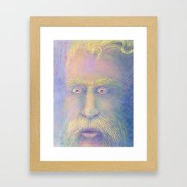 Van Gogh inspired portrait Framed Art Print