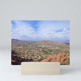 Paradise Valley / Camelback Mountain Mini Art Print