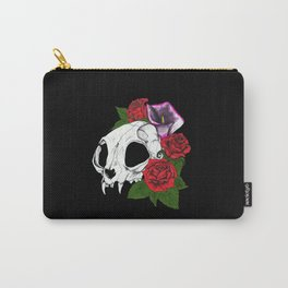 Kitty Skull Carry-All Pouch