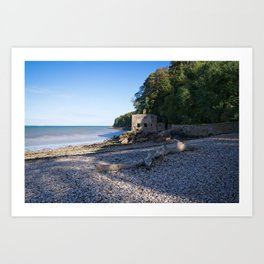 Elberry Cove - Agatha Christie's Favourite Bathing Spot Art Print
