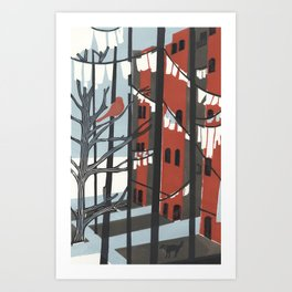 Five Flights Up Art Print