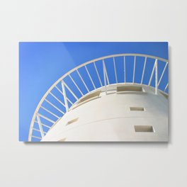 Pacific Mall Tower Metal Print