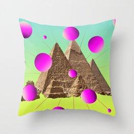 Pyramidaction Throw Pillow