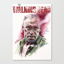 Walking Dead: Merle Canvas Print