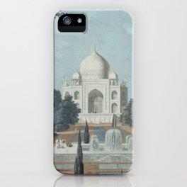 Taj Mahal India iPhone Case