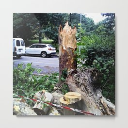 poor tree Metal Print